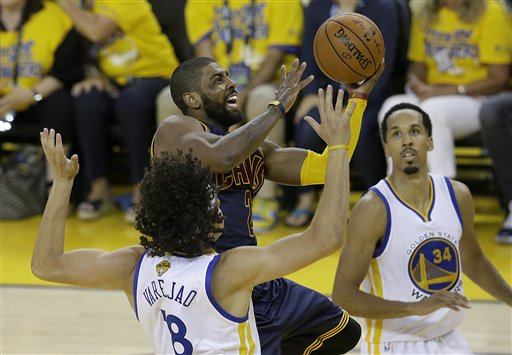 premium selection d9b0c ac822 Pressure point: Irving, Cavs face crucial Game 3 in finals ...