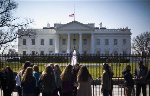 Prime White House To Lower Flag For Nancy Reagan Sentinel Colorado Download Free Architecture Designs Scobabritishbridgeorg